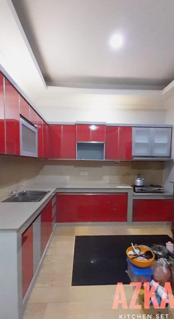 Desain Kitchen Set L