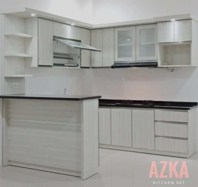 Kitchen Set Modern Depok Kitchen Set Azka Kitchen Set