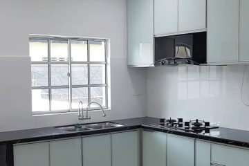 Kitchen Set Aluminium Acp